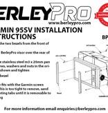 BerleyPro Garmin Echomap NON PLUS 92/93/94/95SV Visor