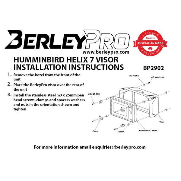 Humminbird Helix 7 Visor