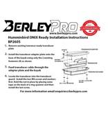 BerleyPro Humminbird HDI Ready Transducer Mount