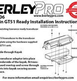 BerleyPro Garmin GT51 Ready Transducer Mount