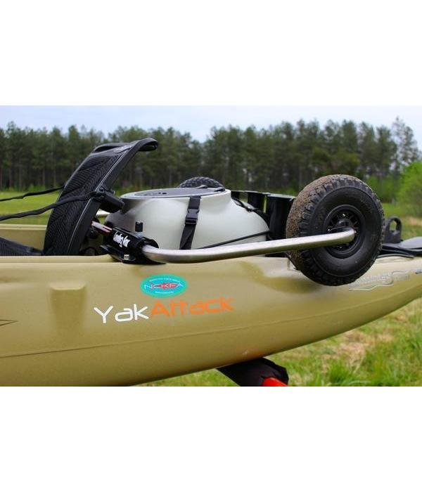 BooneDox Landing Gear With Tuff Tires (Hobie Outback)