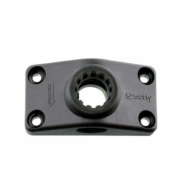 Side/Deck Mountng Bracket Black