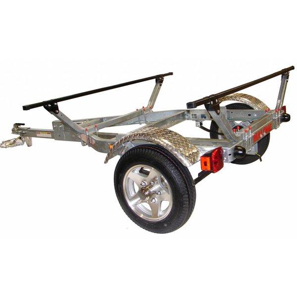 MicroSportXT With Aluminum Wheels-Fenders & Retractable Tongue