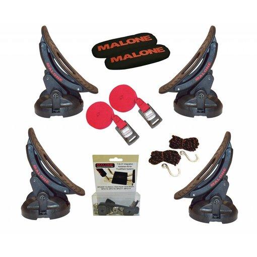 Malone Saddle Up Pro (set of 4), w/T-Slot Truck Rack Hardware