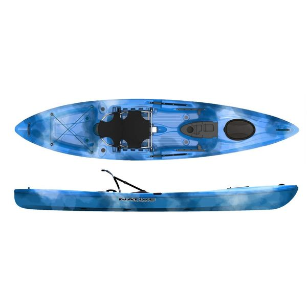 (Prior Year Model) 2018 Manta Ray Angler 12 XT