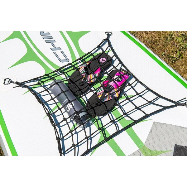 "SUP Cargo Net With Clips (18"" x 18"")"