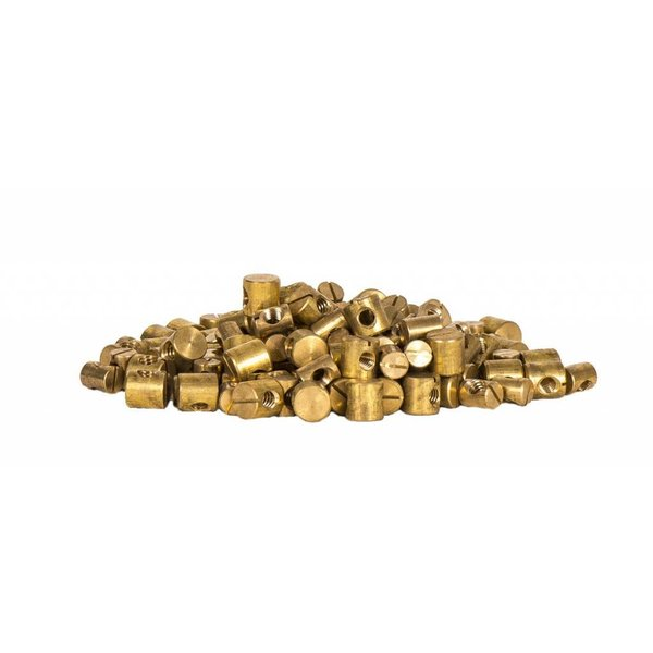 Brass Insert 6mm x 9mm Diameter