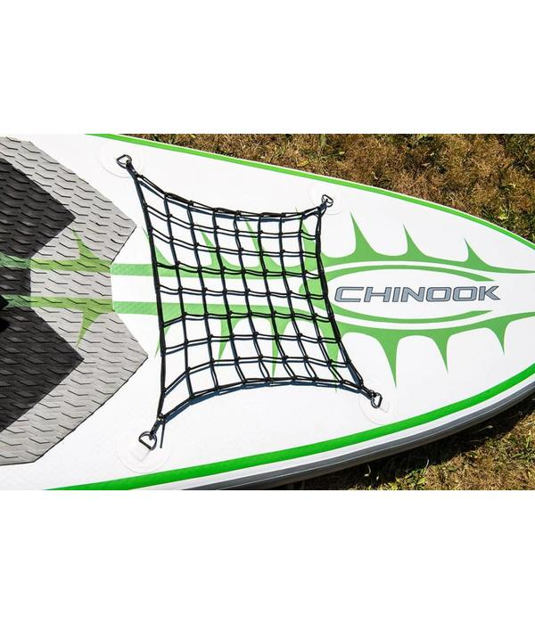 "Chinook SUP Cargo Net With Clips (18"" x 18"")"