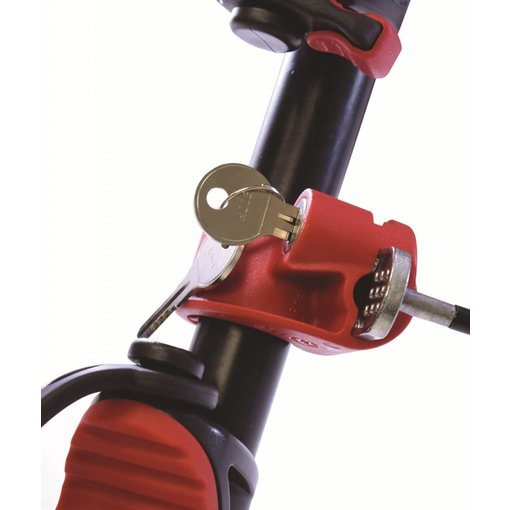 Malone Loop Lock- Cable Lock For 1'' Tubing