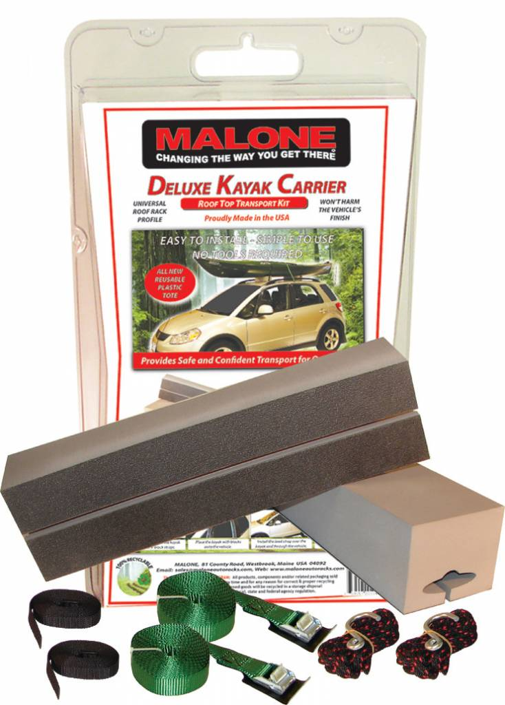 Malone Rack Systems Deluxe Kayak Kit Mariner Sails