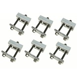 Malone Hobie Style Cradle Adapter (Pack Of 6)