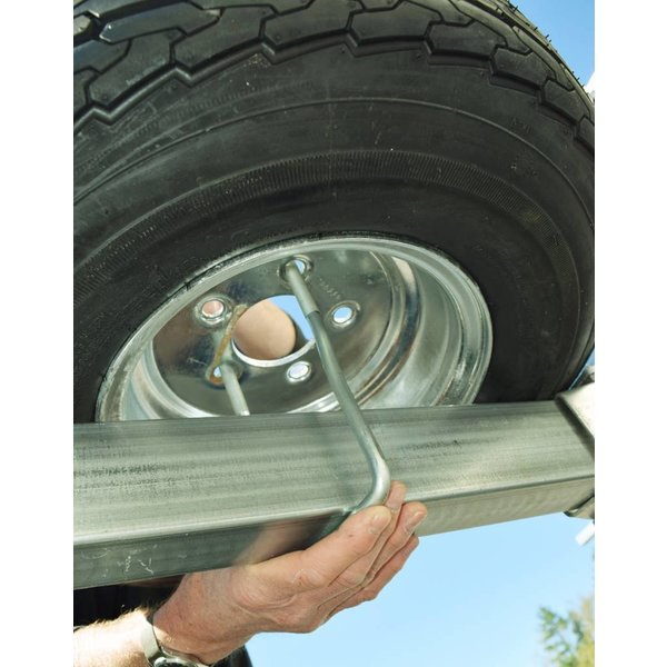 MegaSport Spare Tire With Locking Attachment