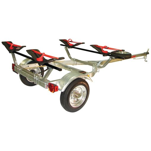 Malone MicroSport Trailer, 1-Spare Tire Kit, 2-Seawings