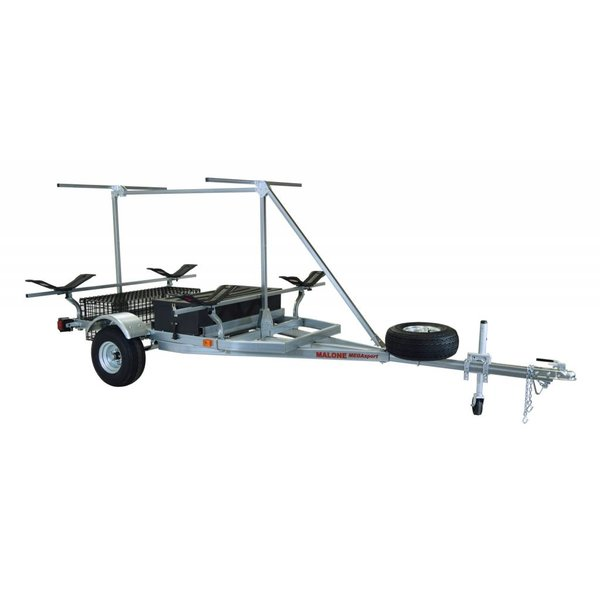 MegaSport 2-Boat Trailer With MegaWing & 2nd Tier