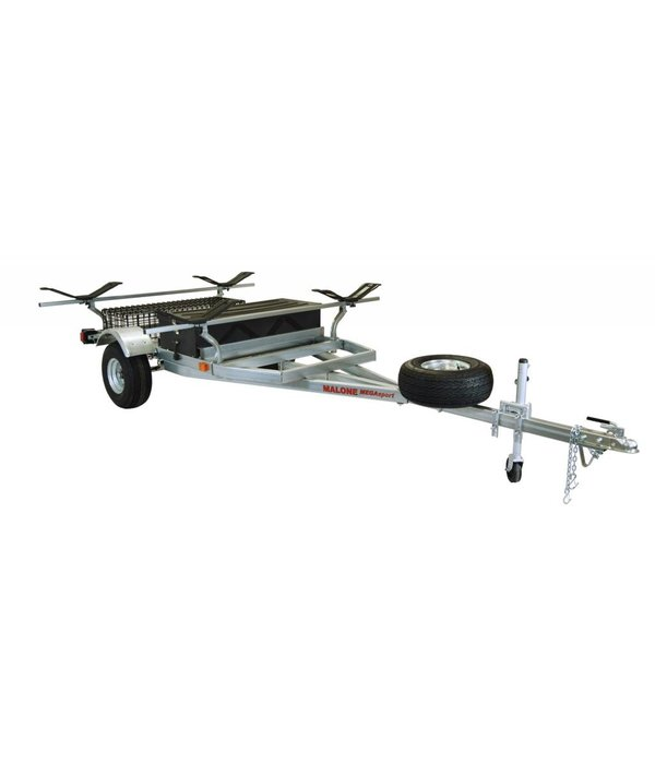 Malone MegaSport 2-Boat Trailer With MegaWing