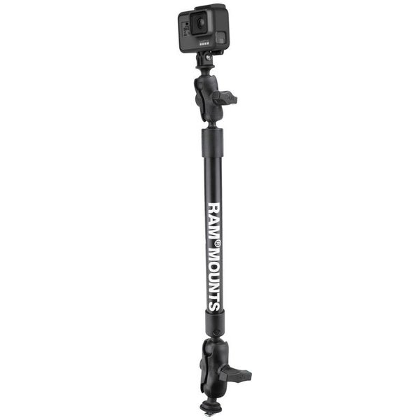 "Tough-Pole™ 22"" Camera Mount with RAM® Track Ball™ Base"