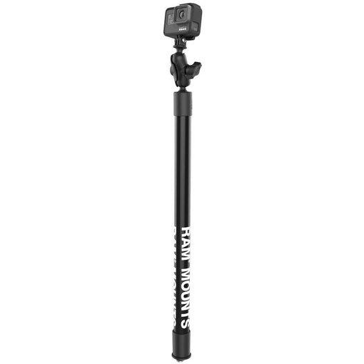 "RAM Mounts 23"" Tough-Pole™ Action Camera Track Mount"