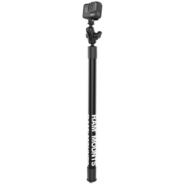 "23"" Tough-Pole™ Action Camera Track Mount"