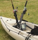 RAM Mounts RAM-TUBE™ 2008 Fishing Rod Holder With Round Flat Surface Base