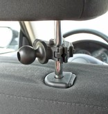 RAM Mounts Universal Small Tough-Clamp™ With 1'' Diameter Rubber Ball