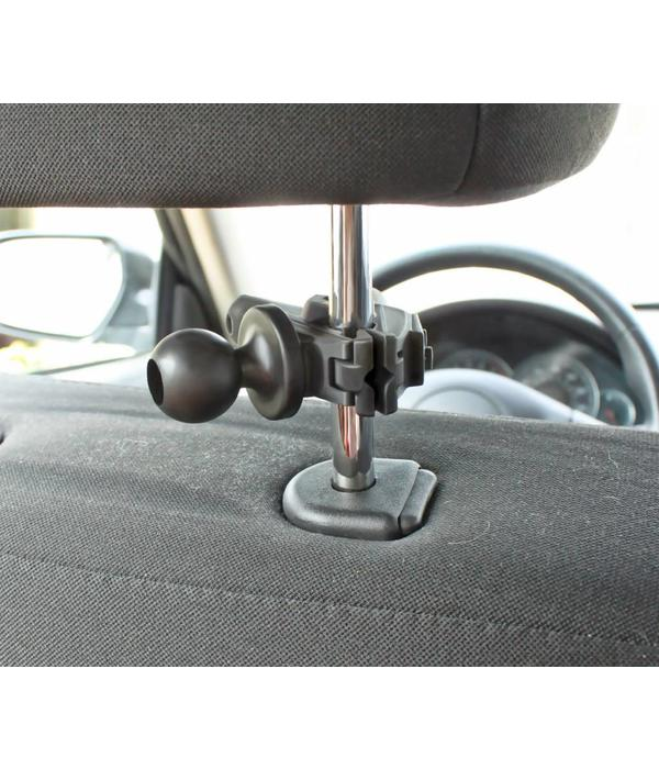 Yak-Attack (Discontinued) RAM Mounts Universal Small Tough-Clamp™ With 1'' Diameter Rubber Ball