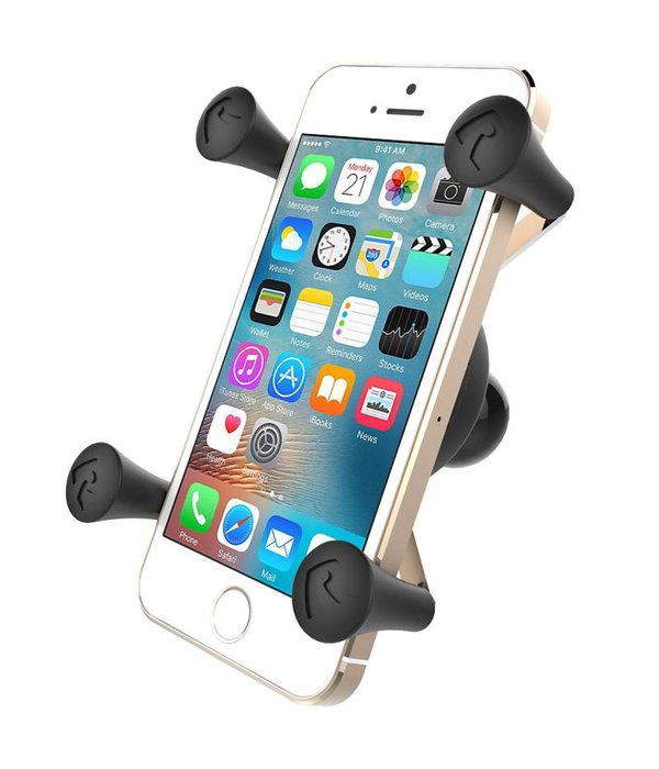 RAM Mounts Universal X-Grip® Cell/iPhone Cradle With B-Size 1'' Ball