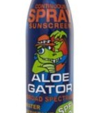 Aloe Gator SPF 50 Spray (6oz)