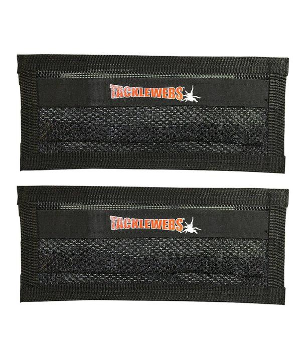 """Tackle Webs, Inc. 14"""" Wide x 6"""" High Specialy Formulated Adhesive Hook & Loop (Pack Of 2)"""