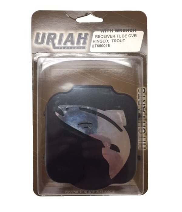 Uriah Products Hinged Receiver Tube Cover Trout