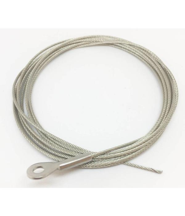 Native Watercraft Wire Rudder Cable With Terminal