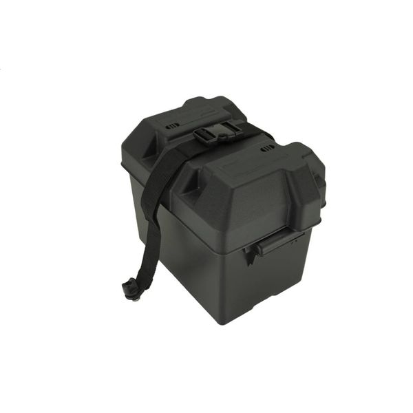 Battery Box With Track & Strap