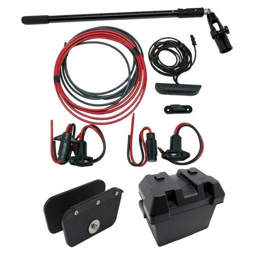 NuCanoe Transom Mount Plug And Play Motor Kit