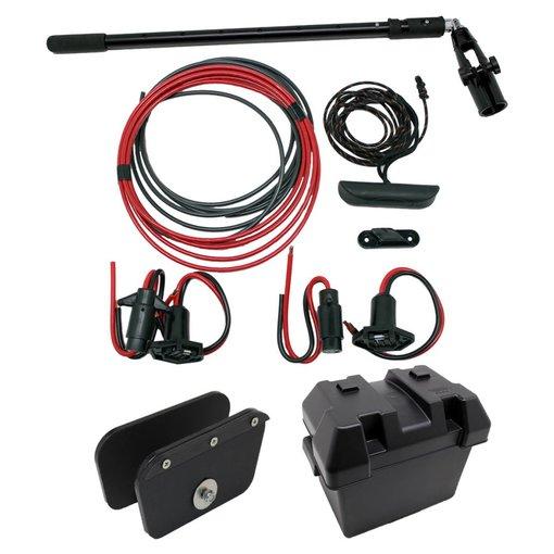NuCanoe Transom Mount P+P Motor Kit