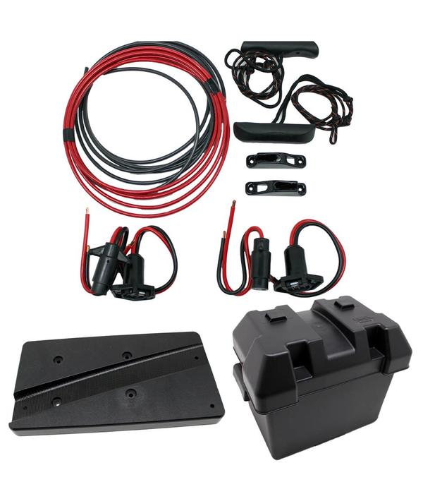NuCanoe Frontier 12 Bow Mount Motor Plug And Play Kit