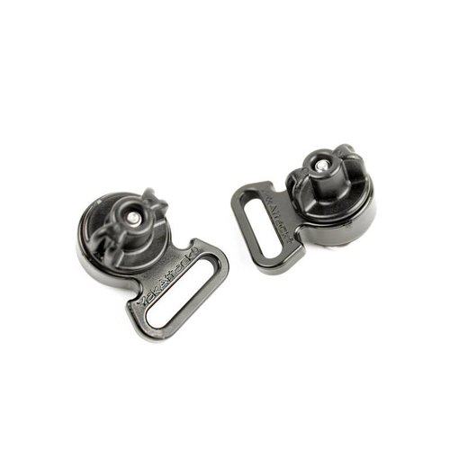 Yak-Attack Horizontial Tie Downs Track Mount (Pack Of 2)