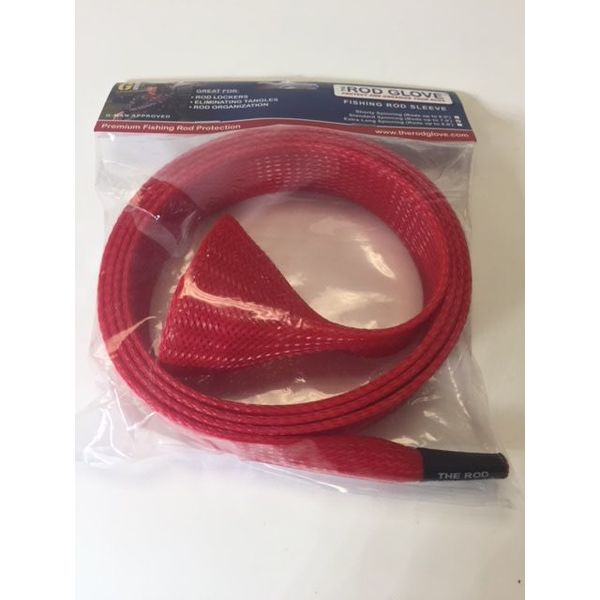 Red Fishing Rod Sleeve