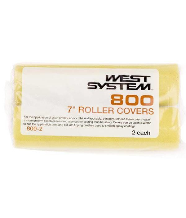 West Systems Yellow Roller (Pack Of 2)