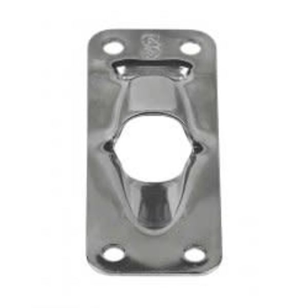 Exit Plate Flat 1/2""