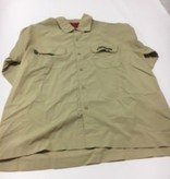 Hobie (Discontinued) Long Sleeve Shirt Khaki Hobie X-Large