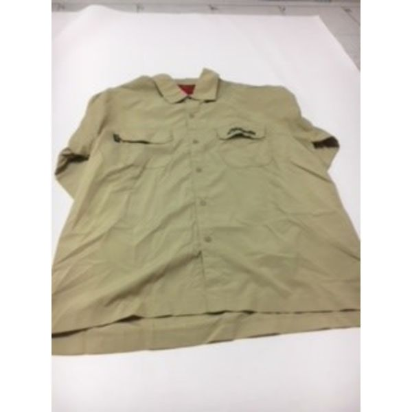 (Discontinued) Long Sleeve Shirt Khaki Hobie X-Large