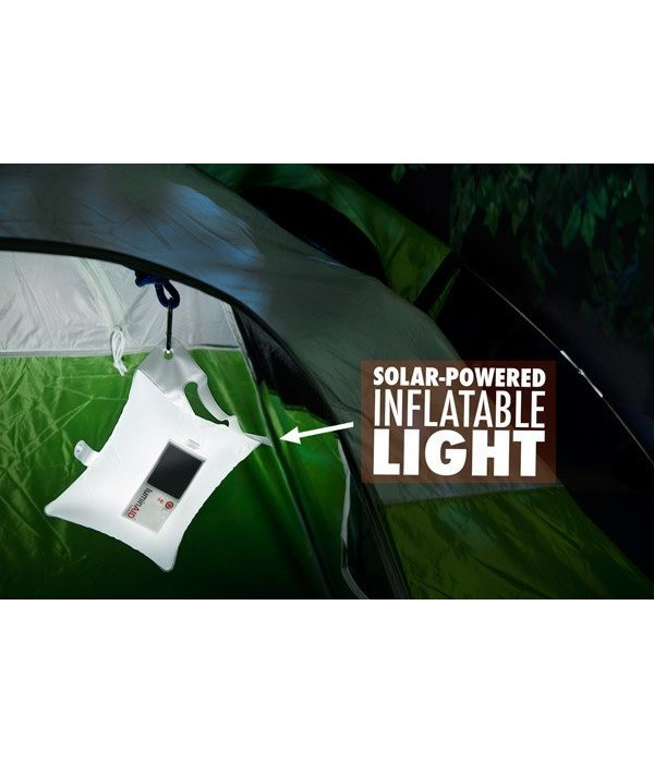 YakGear (Discontinued) Luminaled Infltatable Solor Powered