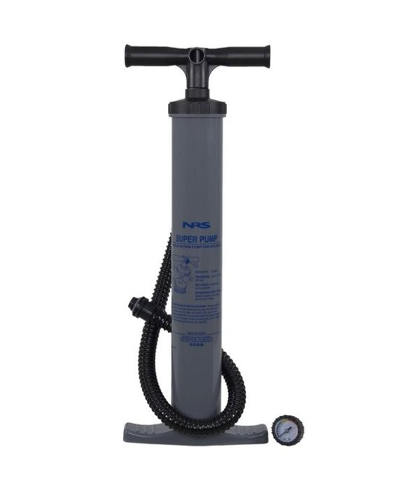 NRS Watersports Super Pump With Gauge