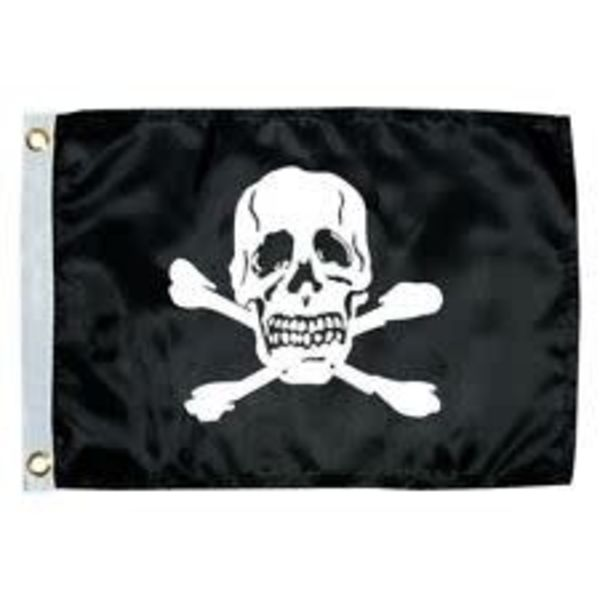 """Flag Pirate (Jolly Roger) 12"""" x 18"""""""