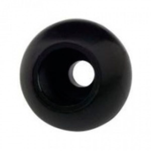 Rope Stopper Large 8mm Black