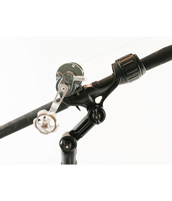 Yak-Attack Omega Pro Rod Holder With Track Mounted LockNLoad Mounting System
