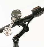 Yak-Attack Omega Rod Holder With Track Mounted LockNLoad Mounting System