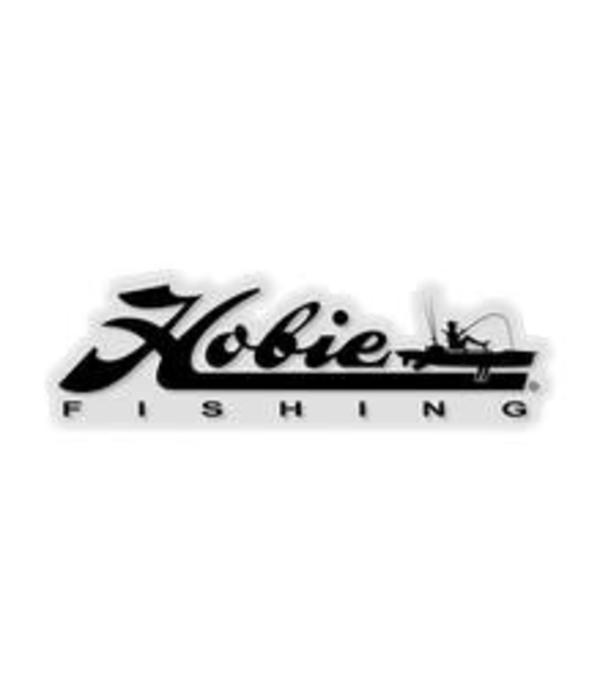 "Hobie Decal ""Hobie Fishing"" Black 12"""
