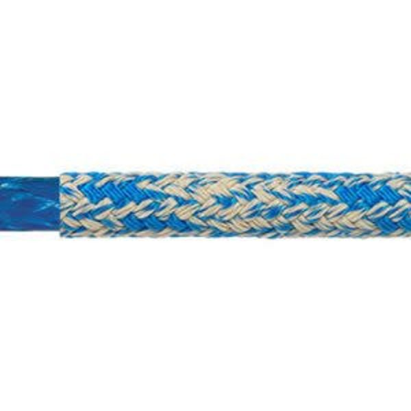 "Line Warpspeed 3/8"" Blue (Per Foot)"