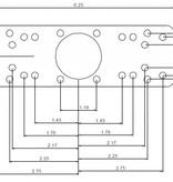 """RAM Mounts Universal Electronics Base With 1.5"""" Ball"""