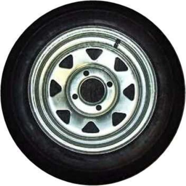 "4.80x12"" Spare Tire 4 Hole Galvanized"